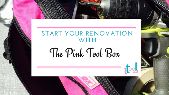 Pink Tool Box for Christmas