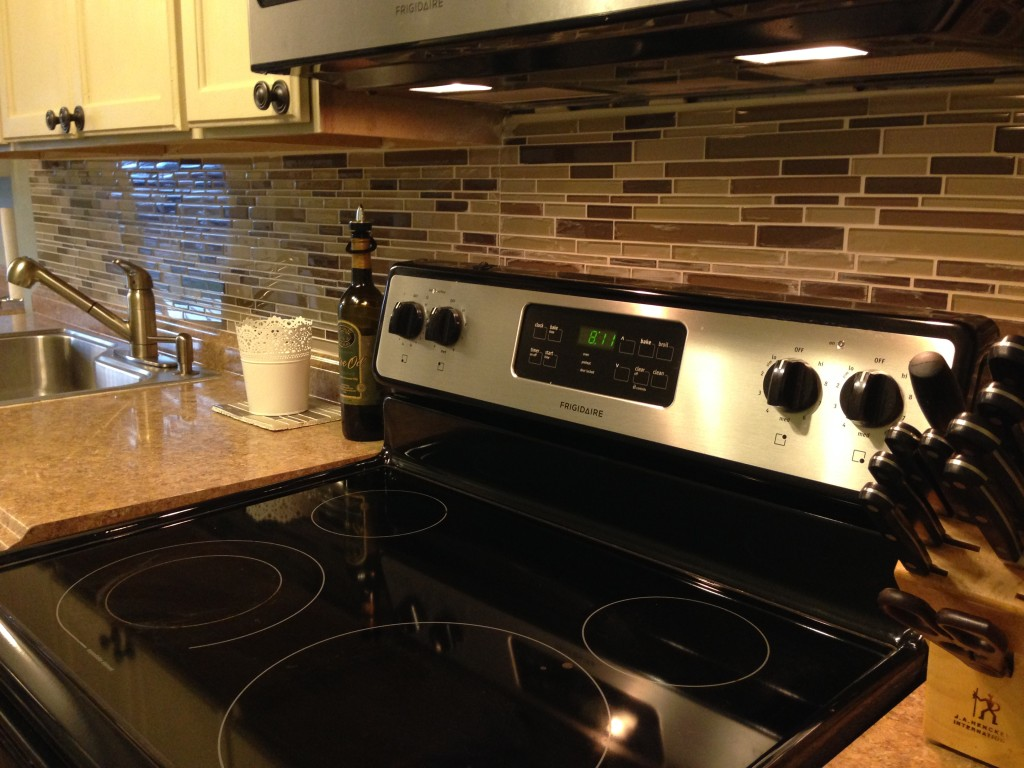 DIY Home Decor Project Kitchen Back Splash