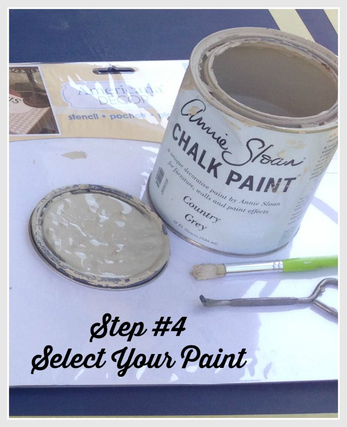 dining room table makeover using Anne Sloan chalk paint