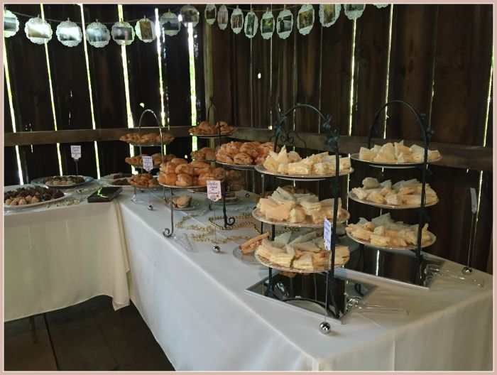bridal tea sandwiches