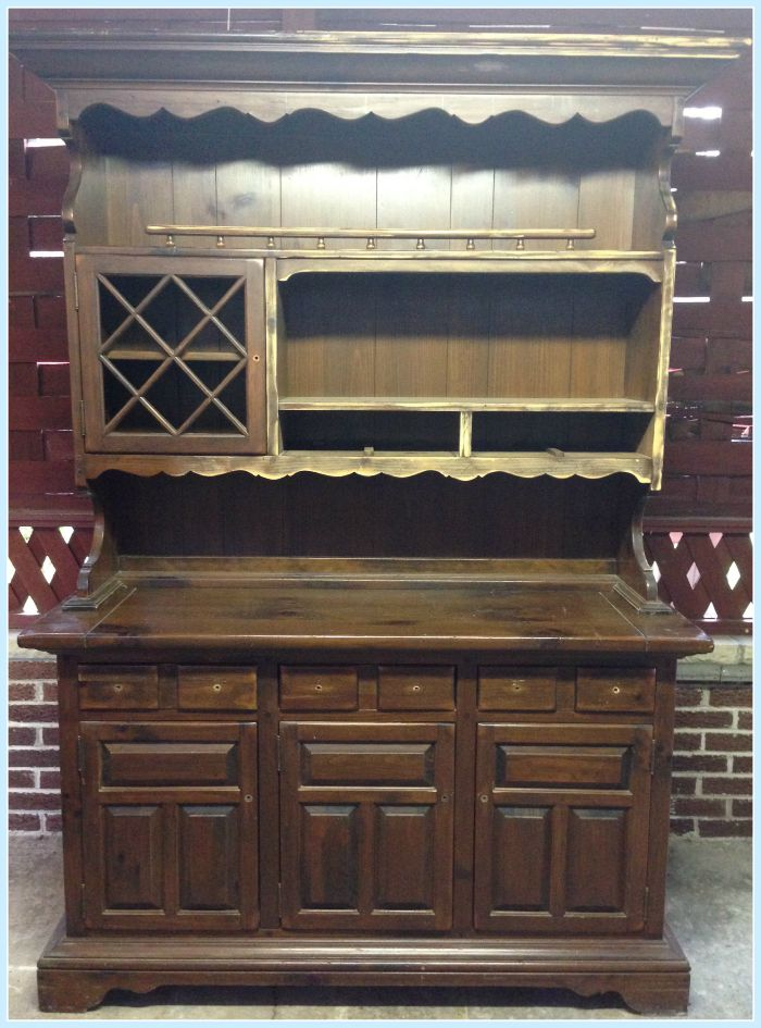unfinished hutch