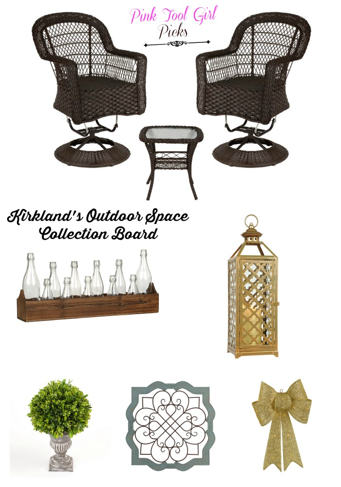outdoor space collection board