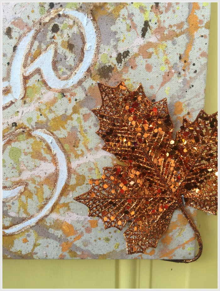 wreaths stencils and leaf