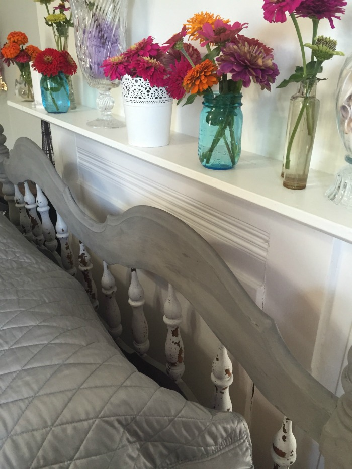 milk paint headboard