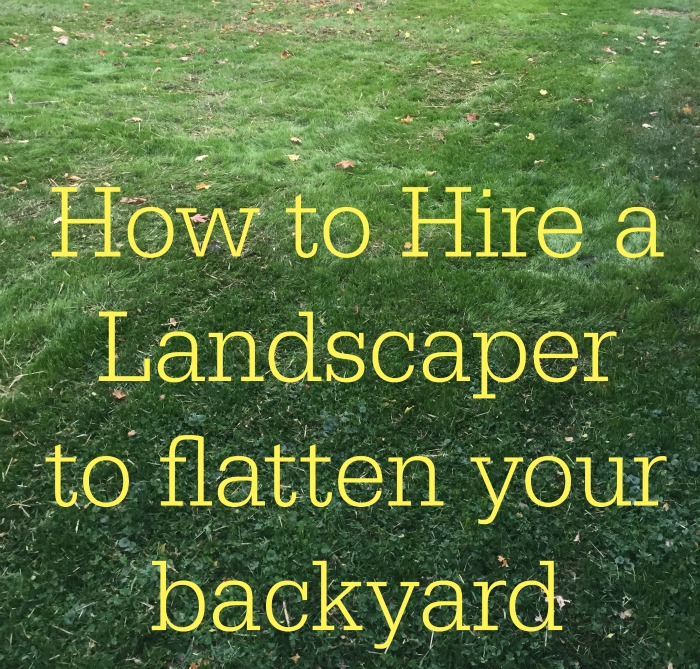 how to hire a landscaper 1