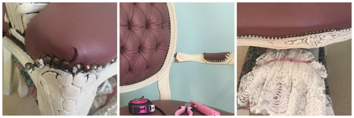 furniture makeover close up pictures