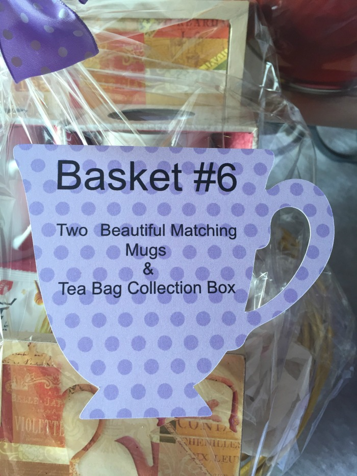 tea cup gift bag tag