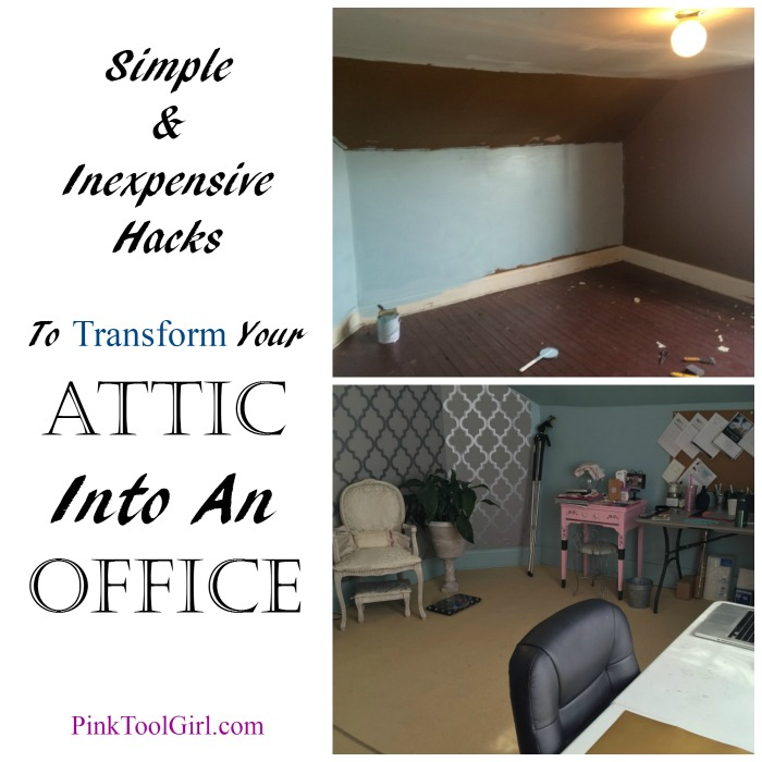 How to turn your attic into an office space but you can do it