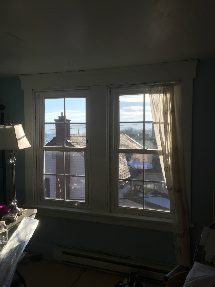 how to turn an attic into an office space view from the windown