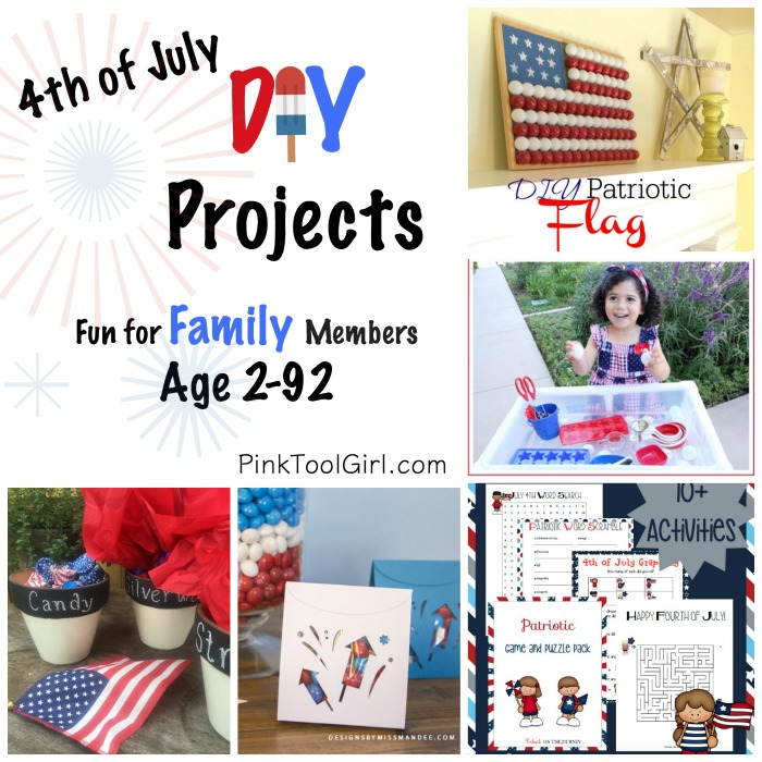 4th of july Diy Projects link party picks