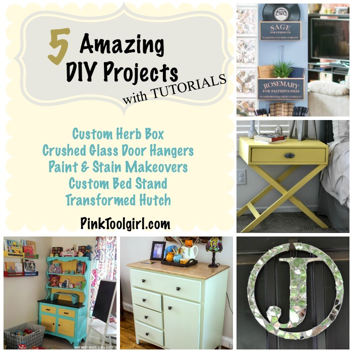 5 amazing DIY projects with tutorials