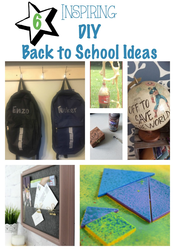 6 Inspiring Back to School Ideas