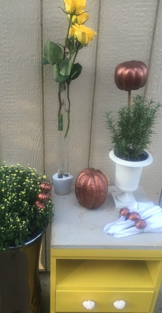 7 easy fall decorations with quikrete projects