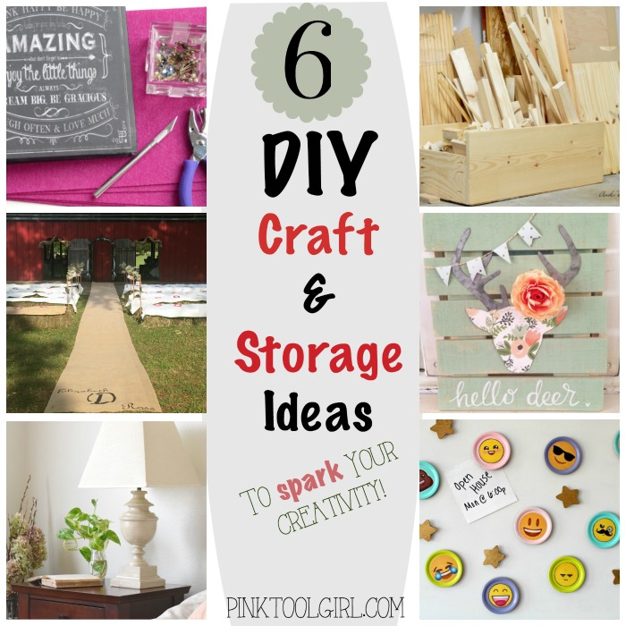 DIY Craft and Storage Ideas