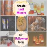 How to create last minute DIY Halloween Ideas + ALBTM #21