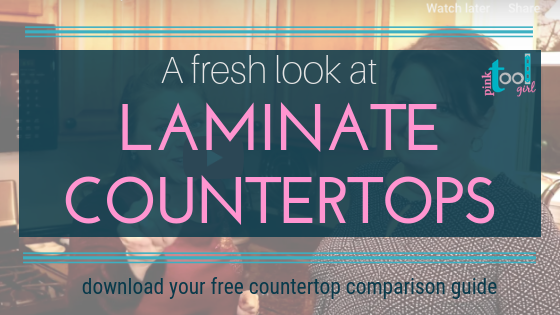 A fresh look at Laminate Countertops