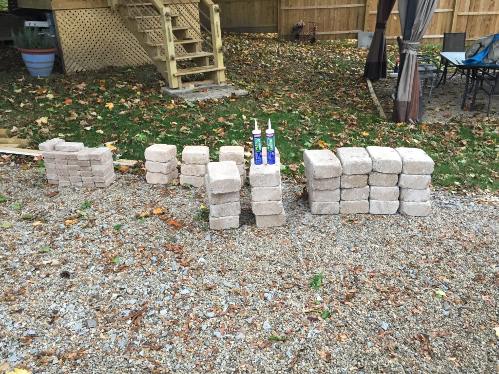 how to build a rectangular fire pit