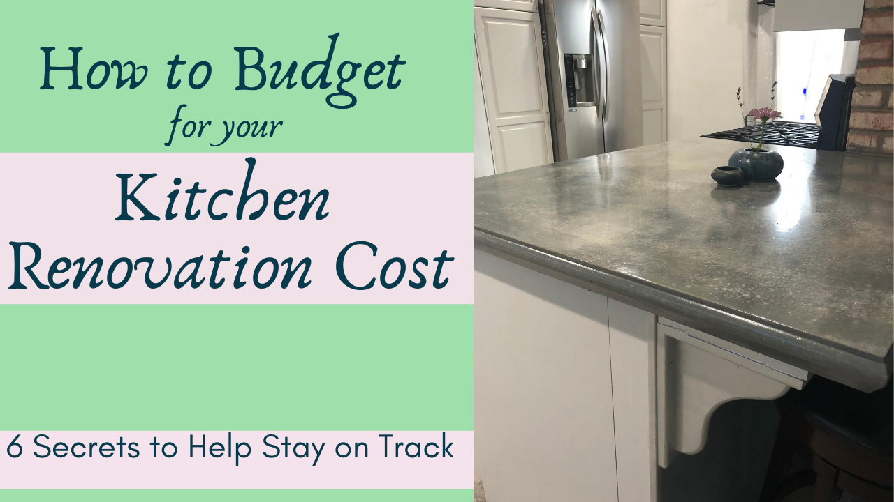 how to budget for your kitchen renovation cost