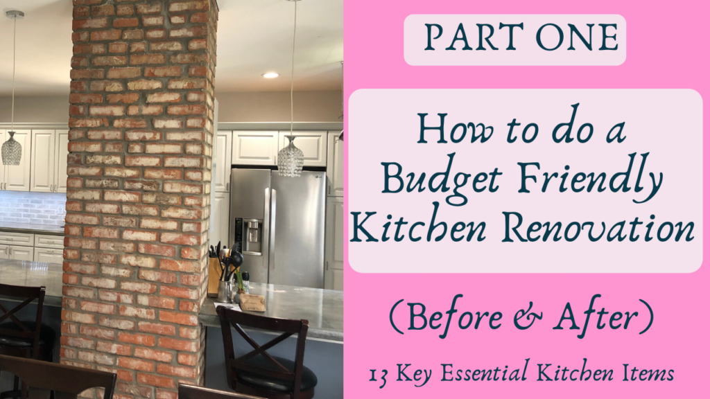 how to do a budget-friendly kitchen renovation