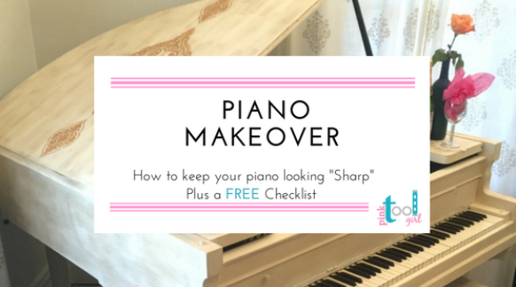 Piano DIY Makeover