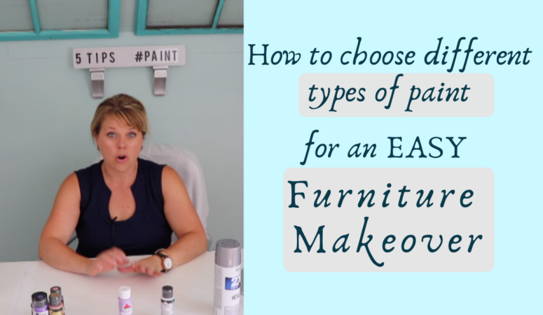 How to Choose Different Types of Paint for an Easy Furniture Makeover