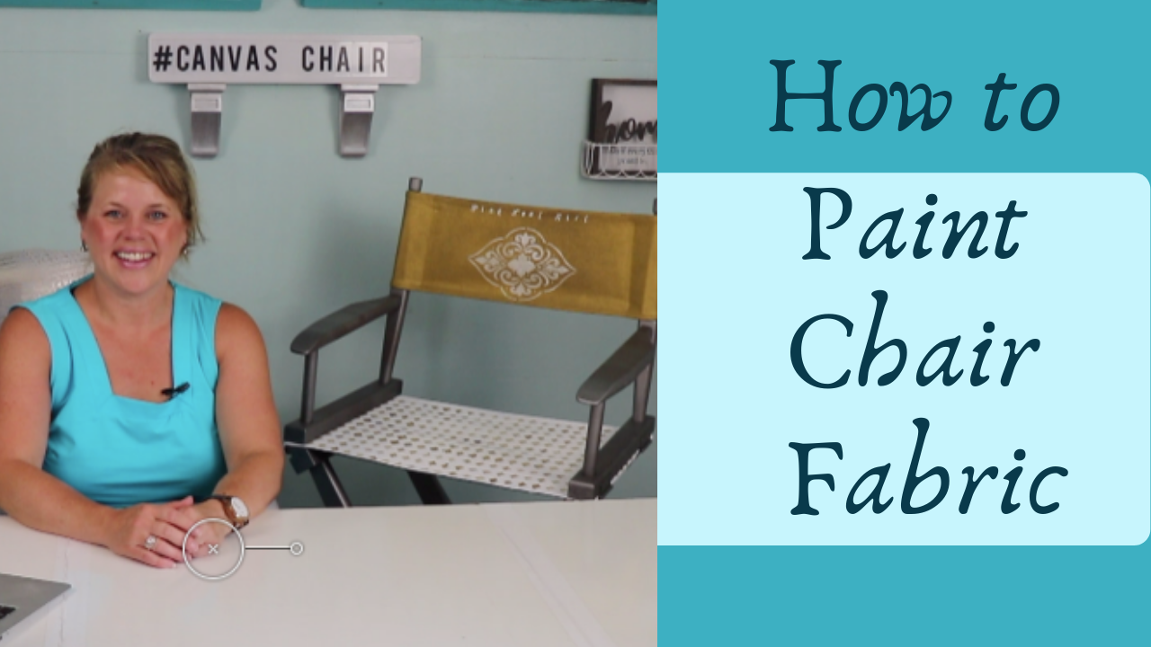 paint chair fabric