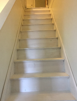 staircase makeover on a budget