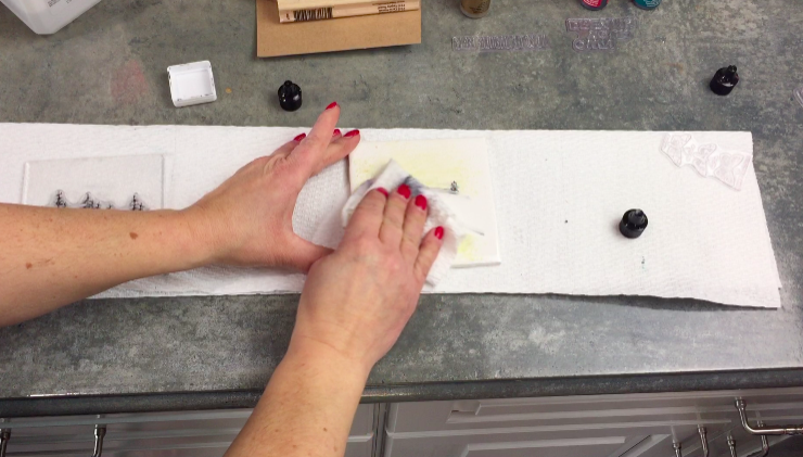 using rubbing alcohol to clean tile
